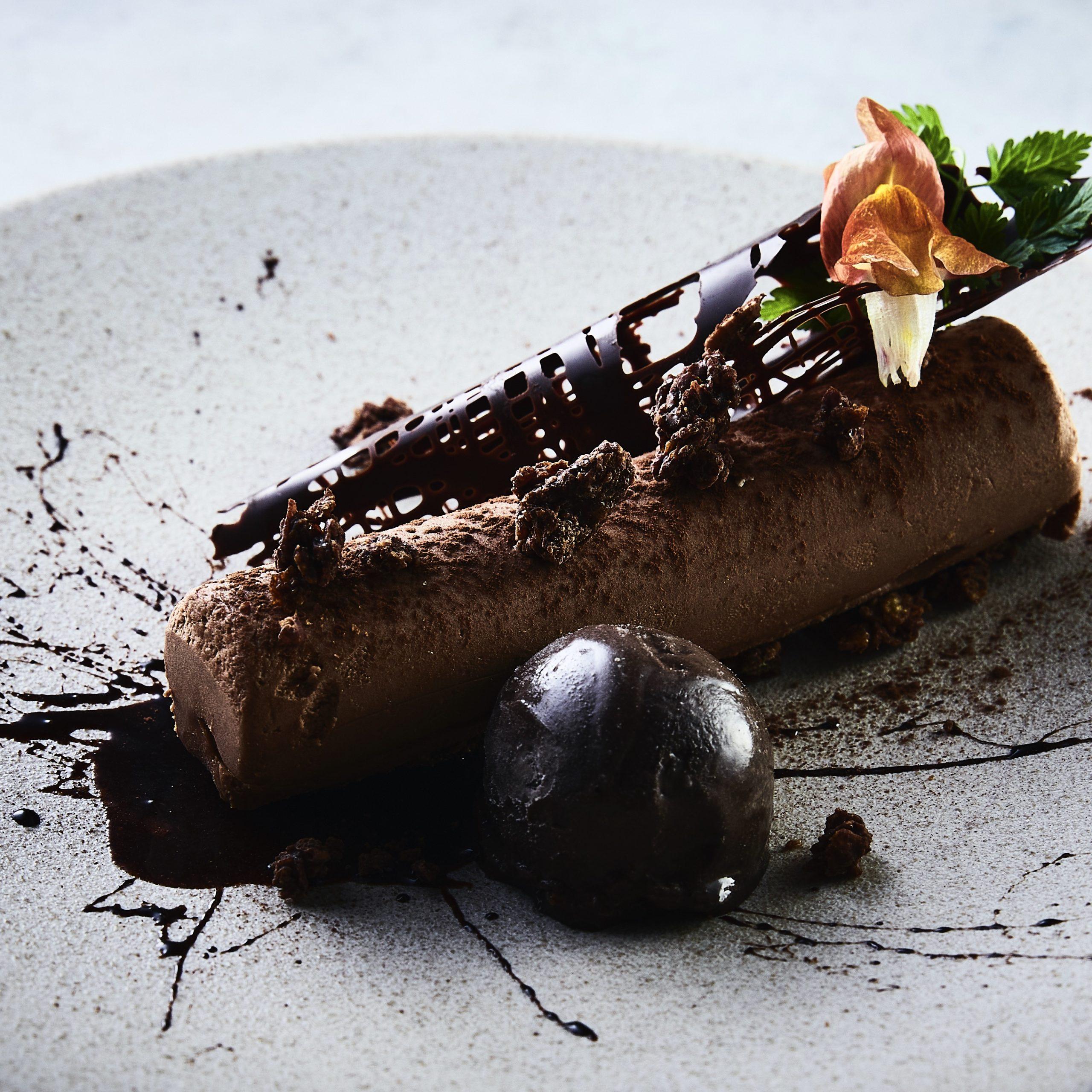 チョコのバリエーション(ムース、クランチ、アイス)